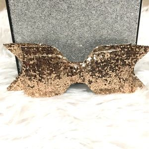 Other - ✨New! Glitter Hair/Cheer Bow🎀